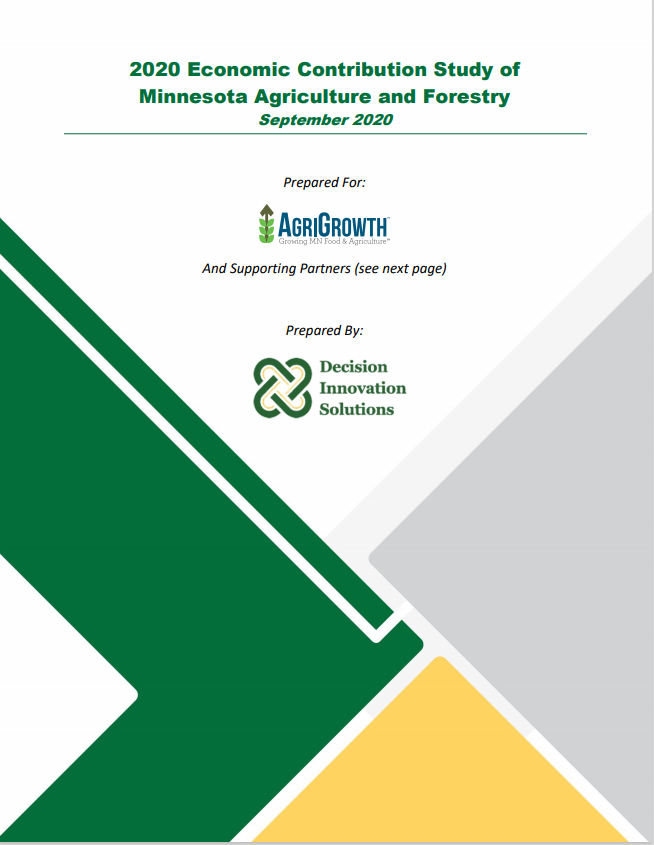 2020 Economic Contribution Study of Minnesota Agriculture and Forestry