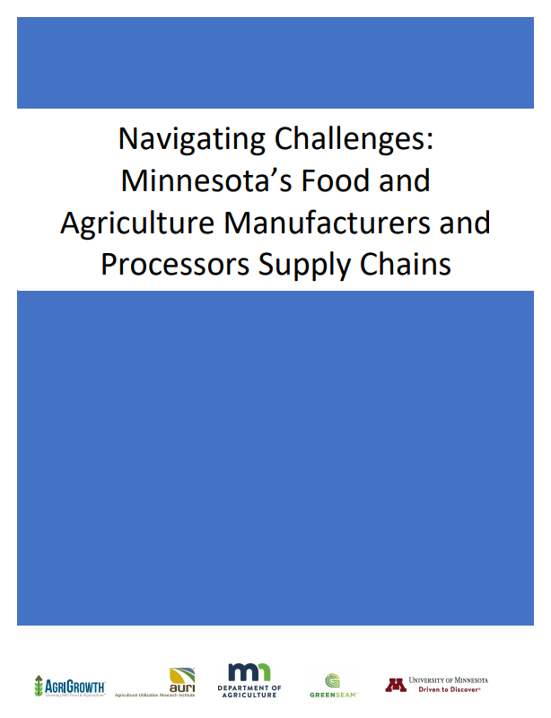 Covid MN Food and Agriculture Supply Chains