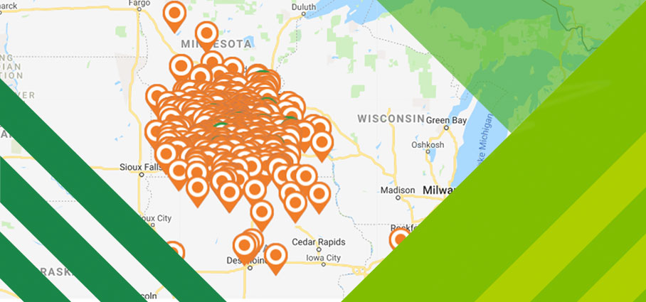 South Central MN Business Directory Map